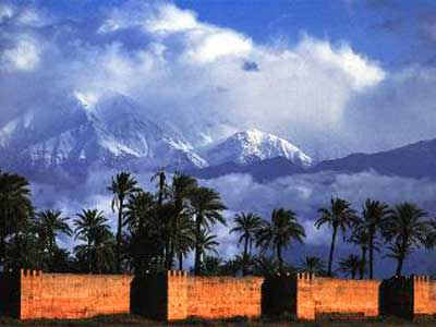 Mount Toubkal and Moroccan Desert image