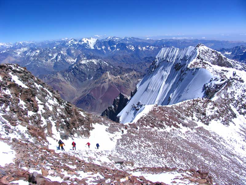 Aconcagua by the Normal Route image