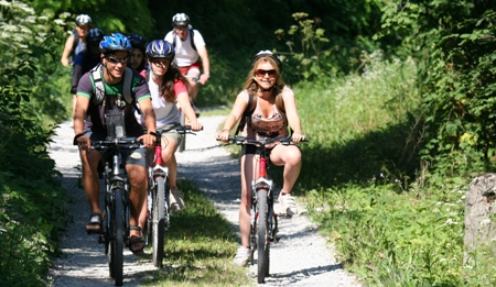 Cycling Along the Mura River, Slovenia image