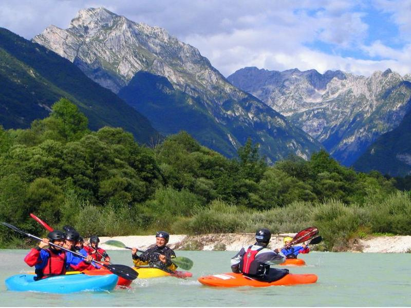 Kayaking & Canyoning in Slovenia image