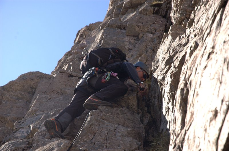 Rock Climbing - Learning to Lead image