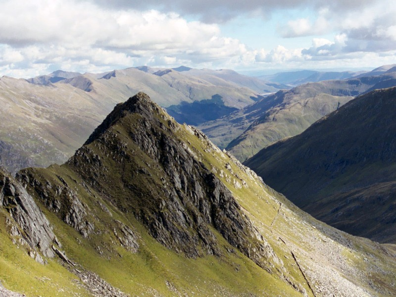 Scottish Wilderness - Glenshiel Saddle image