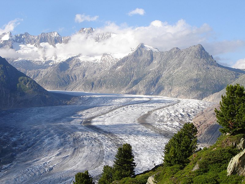 Swiss Alps - Konkordia & the Aletsch Glacier image